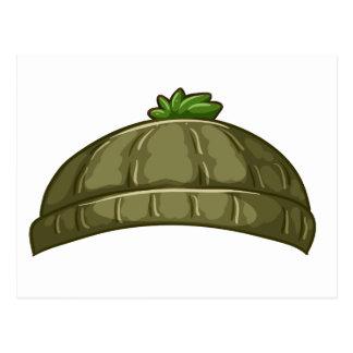 A bonnet postcard