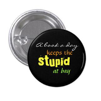 A book a day 1 inch round button