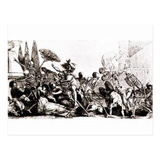 A bountiful Harvest for Death Postcard