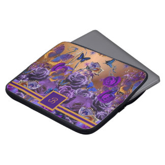 A Bouquet of Butterflies Laptop Sleeve