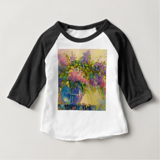 A bouquet of lilacs baby T-Shirt