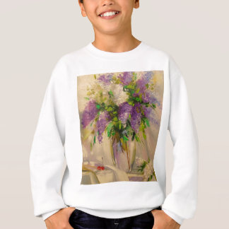 A bouquet of lilacs sweatshirt
