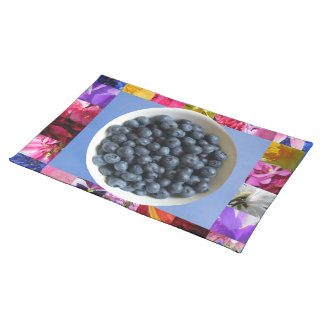 A Bowl of Blueberries Placemat