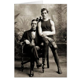 A Boxer and His Gentleman Card