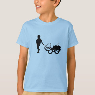 A Boy And His Octopus T-Shirt