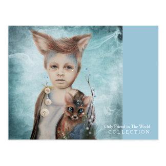 A Boy & His Fox Postcard