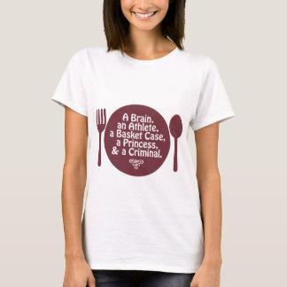 A Brain, an Athlete, a Basket Case... Pop Culture T-Shirt