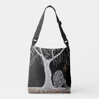 A Branch of Life to Contemplate Crossbody Bag