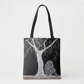 A Branch of Life to Contemplate Tote Bag