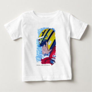 A BRAZILIAN HERO - artwork by Jean Louis Glineur Baby T-Shirt