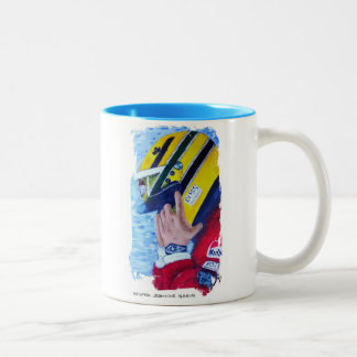 A BRAZILIAN HERO - Artwork Jean Louis Glineur Two-Tone Coffee Mug