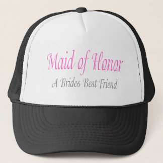 A Bride's Best Friend Trucker Hat