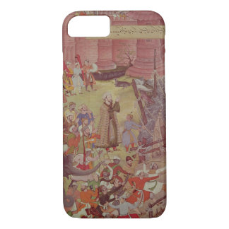 A Bridge of boats broken by Akbar (r.1556-1605) on iPhone 7 Case