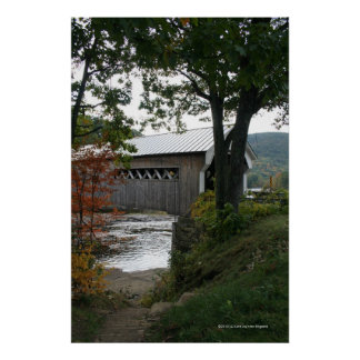 A Bridge to Cross Left (vertical) Gallery Print