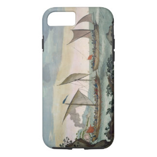 A Brigantine giving chase to a Felucca, and about iPhone 7 Case