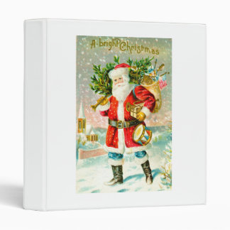 A bright Christmas 3 Ring Binder