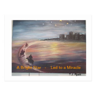 A Bright Star Led to a Miracle Postcard