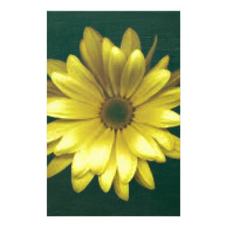 A Bright Yellow Flower Stationery