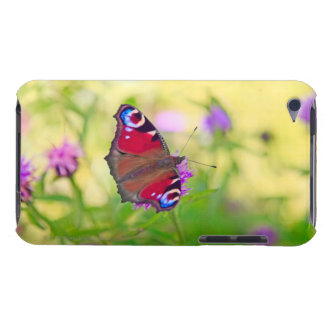 A brightly coloured Peacock butterfly is iPod Touch Case