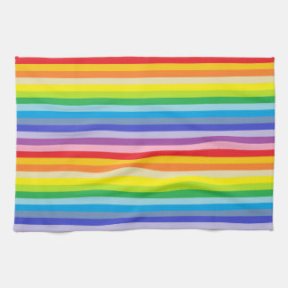 A Broader Spectrum Rainbow Stripes Kitchen Towel