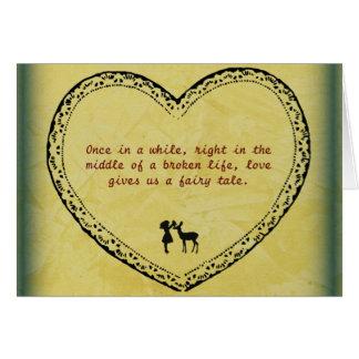 A Broken Life Fairytale 2 Card