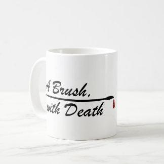 A Brush, with Death logo mug