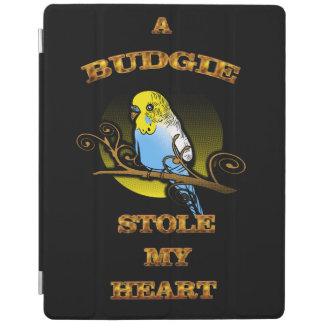 A Budgie Stole My Heart iPad Cover