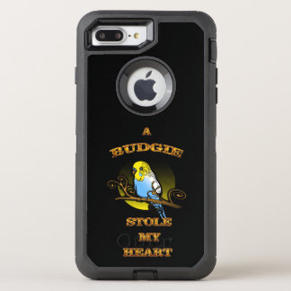 A Budgie Stole My Heart OtterBox Defender iPhone 7 Plus Case
