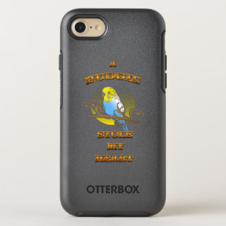 A Budgie Stole My Heart OtterBox Symmetry iPhone 7 Case