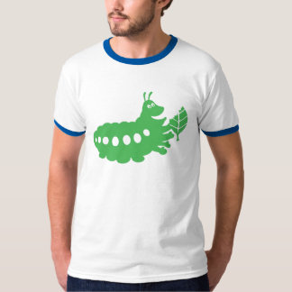 A Bug's Life Heimlich eating leaf cutout Disney T-Shirt