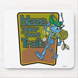 "A Bug's Life's Flik ""Blaze Your Own Trails"" Disney Mouse Pad"