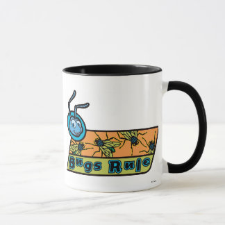 "A Bug's Life's Flik ""Bugs Rule"" Disney Mug"