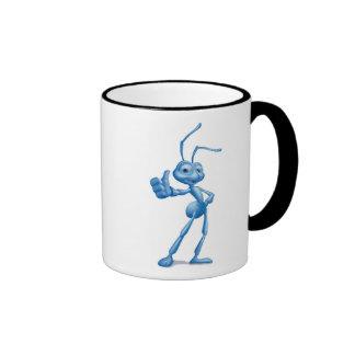 A Bug's Life's Flik Disney Ringer Coffee Mug