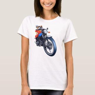 A BULLDOG RIDING BIKE T-Shirt