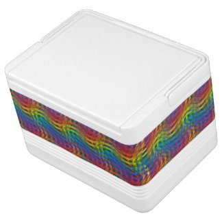 A Bumpy Rainbow Can Cooler