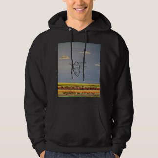 a bunch of crazy space ani... hoodie