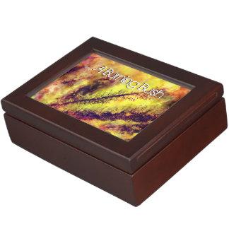 A Burning Bush Keepsake Box