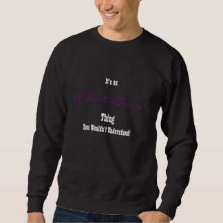 A. Burr Sweathirt Sweatshirt