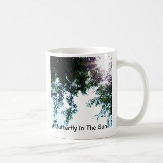 A Butterfly In The Sun Coffee Mug