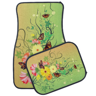 A Butterfly Tree Car Mat