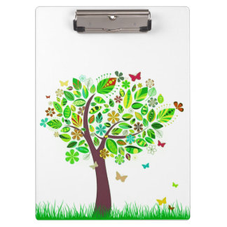 A Butterfly Tree Clipboard