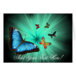 A Butterflys Journey Greeting Card