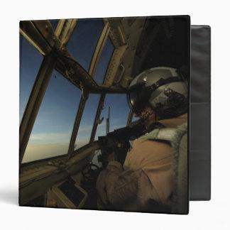 A C-130 Hercules pilot scans the horizon Binder