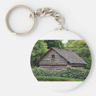 A Cabin in the Garden Basic Round Button Keychain