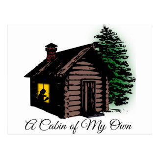 A Cabin of My Own Postcard