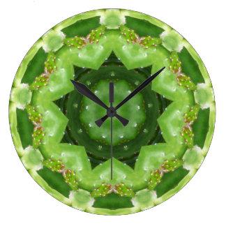 A Cactus Lair Fractal Large Clock