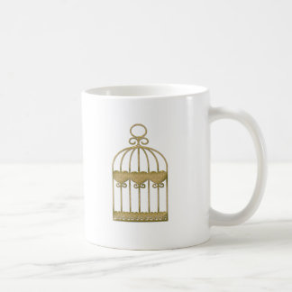 A cage is a cage even if it's beautiful coffee mug