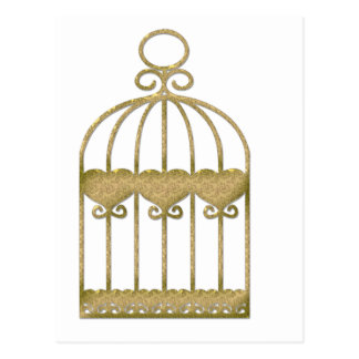 A cage is a cage even if it's beautiful postcard
