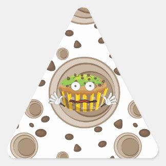 a cake triangle sticker