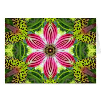 A Call to Love Mandala Card